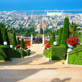 "This is another image from my ""before I decided to get into photography"" days.   It's the Bahai Gardens in Haifa, Israel.  I took ..."