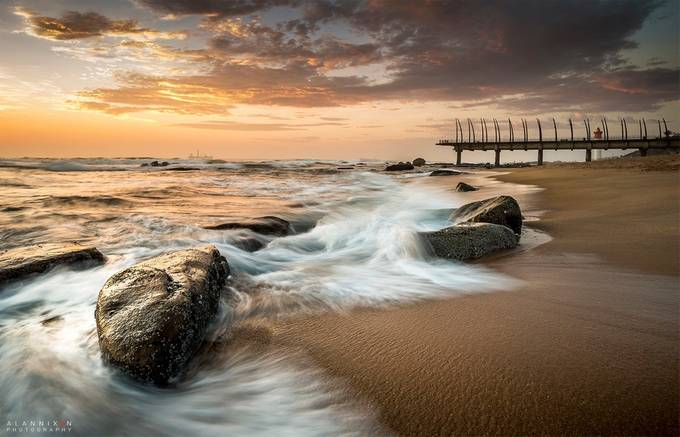 Umhlanga pier by Alannixon - Image of the Year Photo Contest by Snapfish