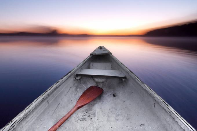 Drifting in an old, crooked canoe by Michael_Higgins - Best Shot Photo Contest
