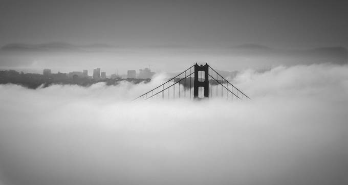 Golden Gate Bridge by Jamie235 - Composing with Negative Space Photo Contest