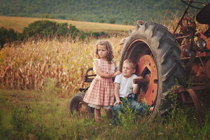 little farmers by Andreamartinphoto - Farming Photo Contest