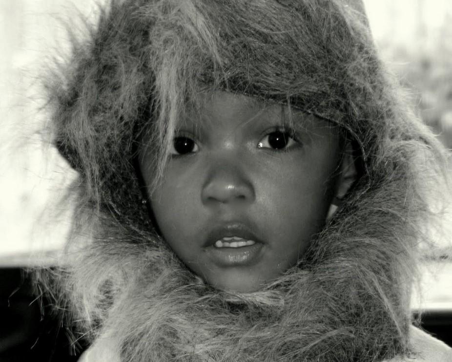 My little Eskimo granddaughter Cammy