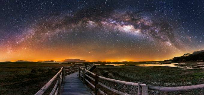 The way to the universe by sergiovindas - Image of the Year Photo Contest by Snapfish