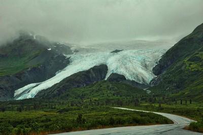 Worthington Glacier August 2006