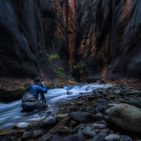 There is no better way to experience nature than to be part of it. On my recent trip to Zion National Park, I was in my element.......sitting ...