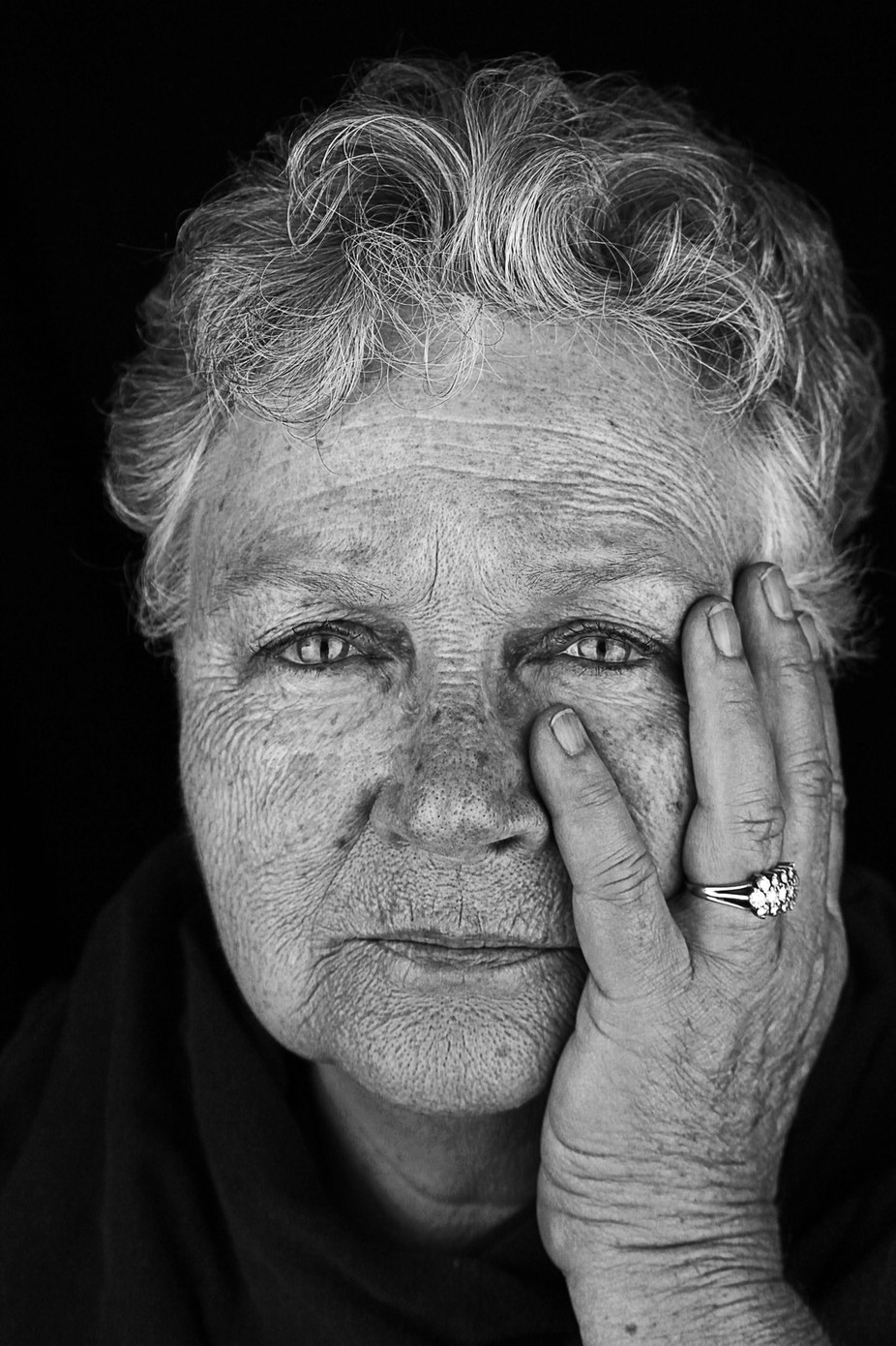 mother, grandmother, great grandmother by zebmay - Dark Portraits Photo Contest