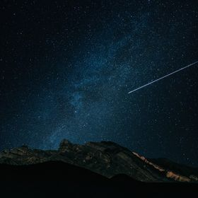I have a chance to shoot at a meteor shower night. So I set an interval for camera to take a picture in every 20 seconds. I think was lucky to ca...