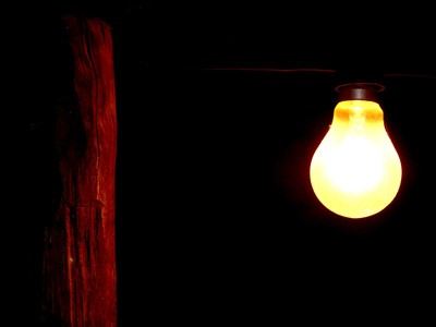 Source of light.