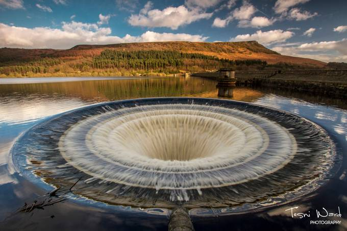 Ladybower Bellmouth by tesniward - Clever Angles Photo Contest