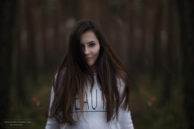 Half smile