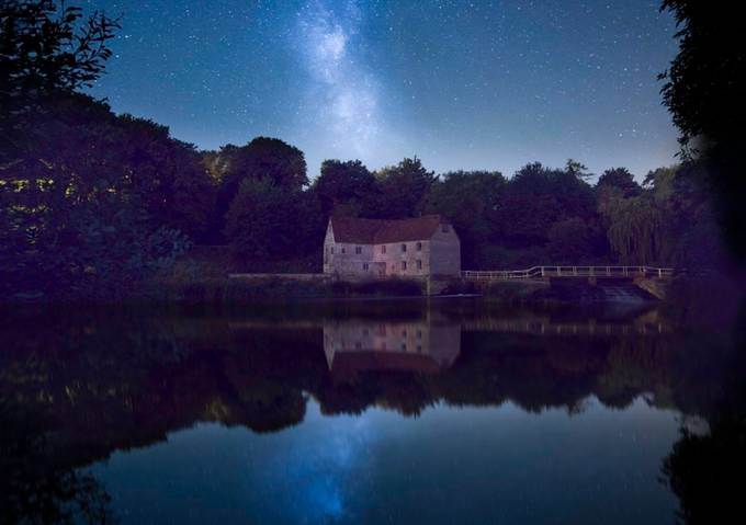 Sturminster Newton Mill Reflections of Time by ollietaylorphotography