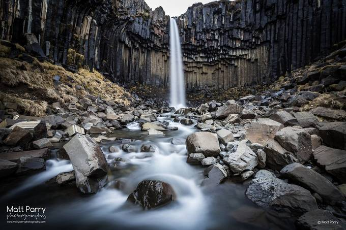 Svartifoss by mattparry - Landscapes Of Iceland Photo Contest