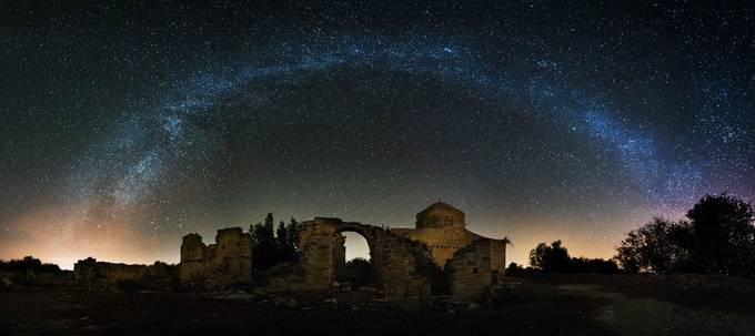 Timios Stavros Milky Way by ollietaylorphotography - Dodho Volume 4 Photo Contest