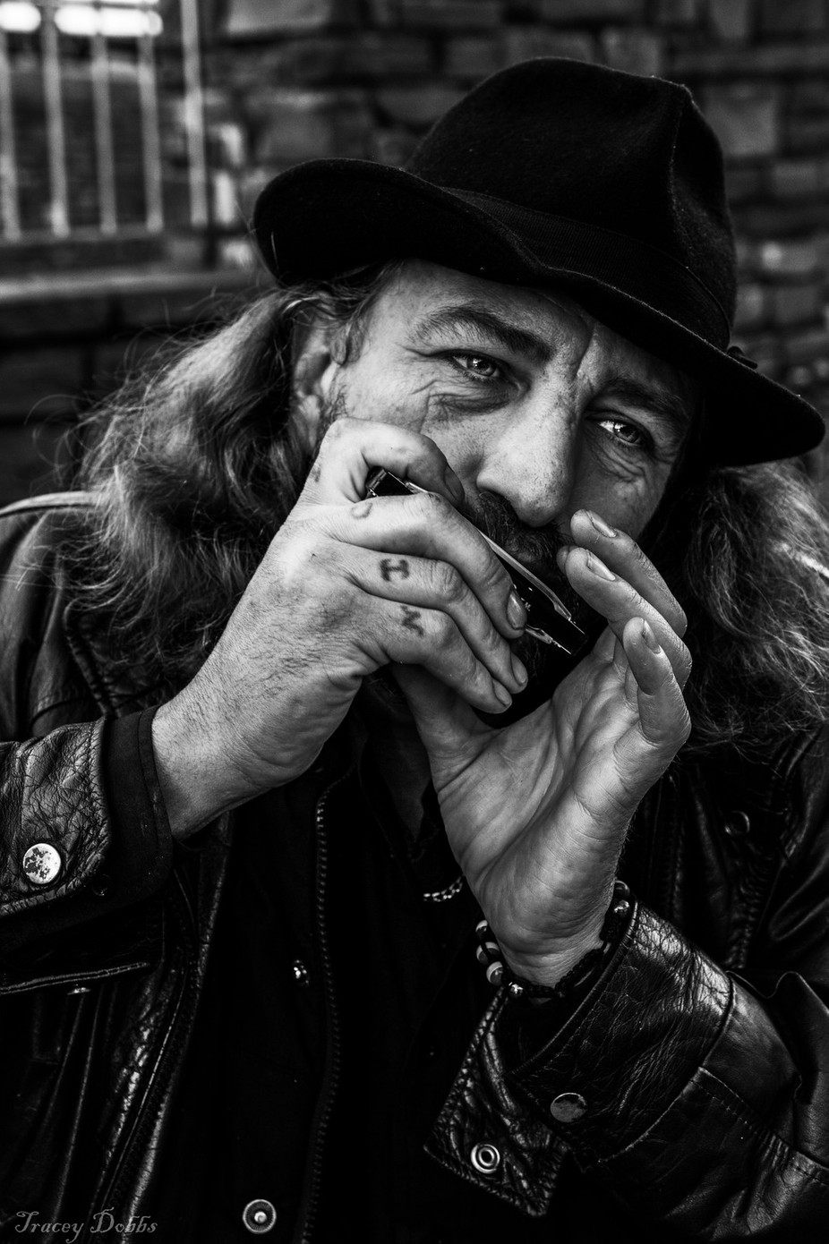 Street portrait by traceydobbs - People In The City Photo Contest