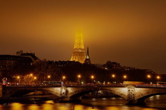 Misty Tower by Seally - Paris Photo Contest