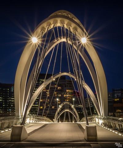 Melbournes Seafarers Bridge at Dusk 3