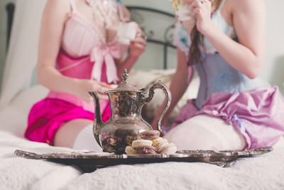 Tea Time & Lingerie | Boudoir