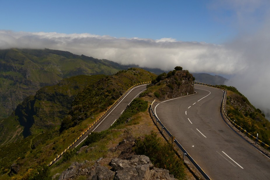 Taken during a drive over the island of Madeira.
