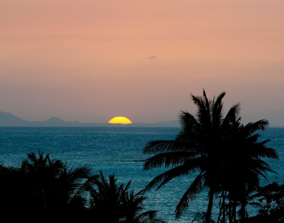 Sunset at Guardalavaca Beach, Holguin Province, Cuba