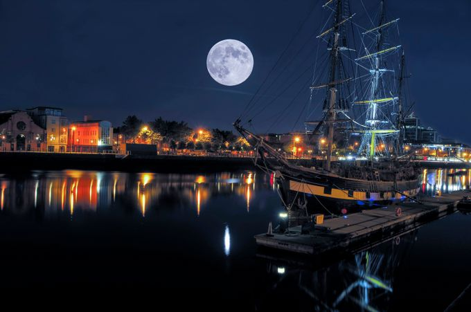Tall ship by MishaMaricPhotography - Night Wonders Photo Contest