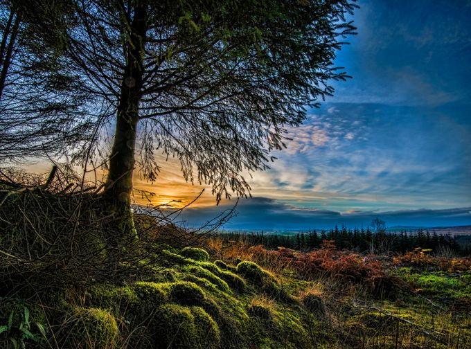 Sunset in Dumfries & Galloway by AidenOgden - Nature In HDR Photo Contest