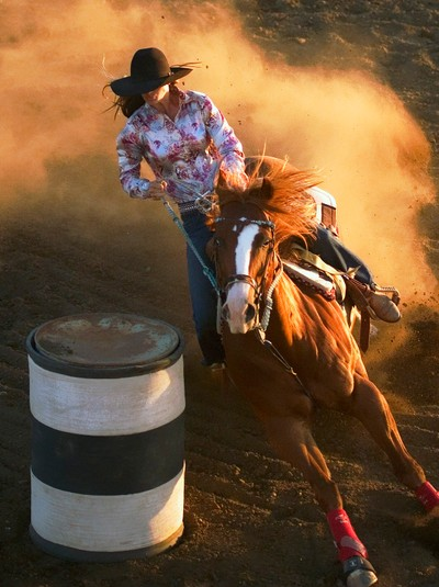 Barrel Racing Diva