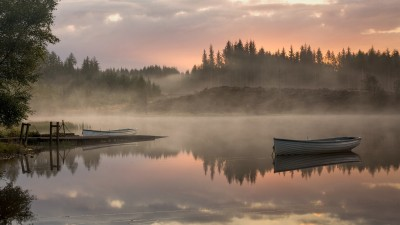 Early Light, Loch Rusky