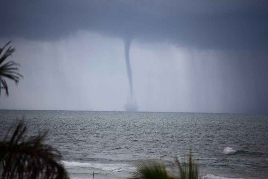 A waterspout over Gulf of Mexico