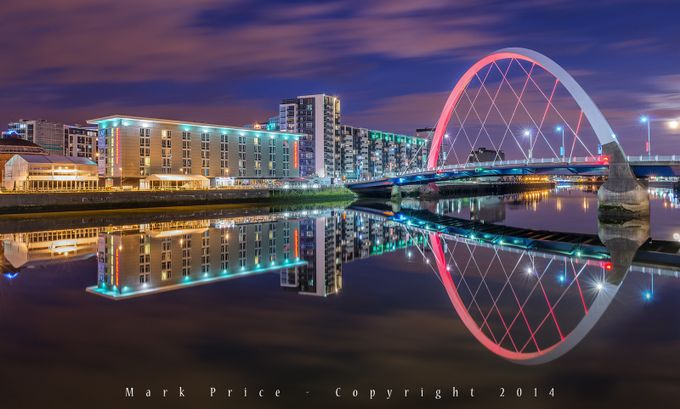 The Clyde Arc, Glasgow by markAPR - City Views Photo Contest