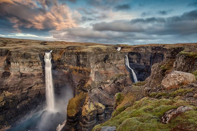 Haifoss by bengreenphotography - Adventure Land Photo Contest Outside Views