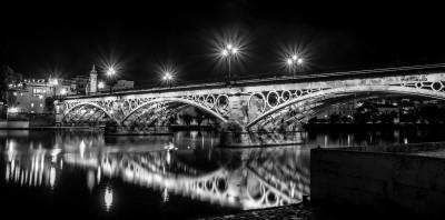 Midnight reflection