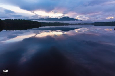 Loch Garten twilight