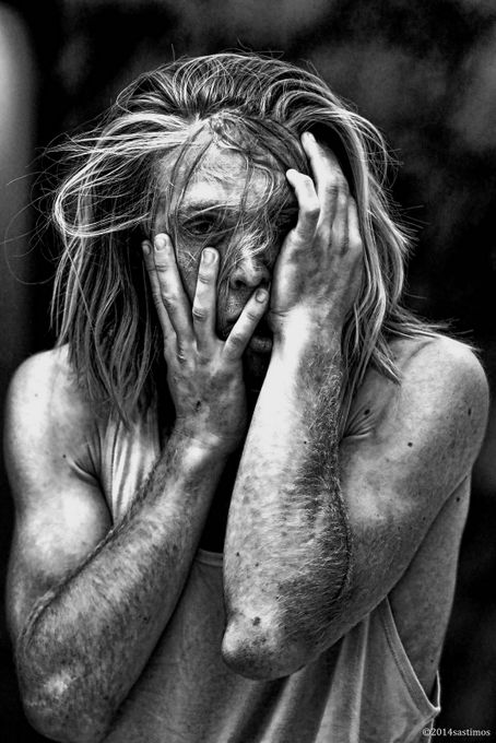 Bad Hair Day 2 by sastimos - Dramatic Portraits Photo Contest