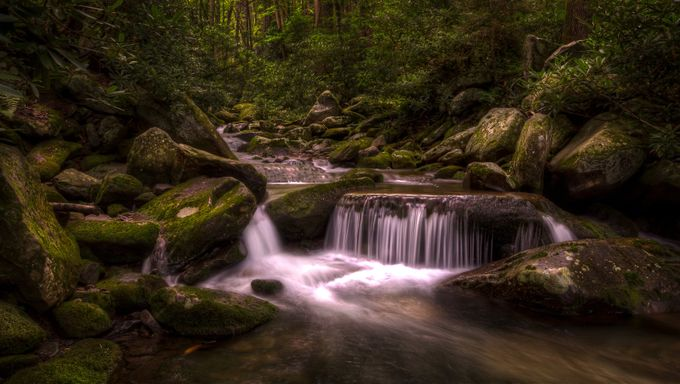 Mini Falls by phillip_brossette - Streams In Nature Photo Contest