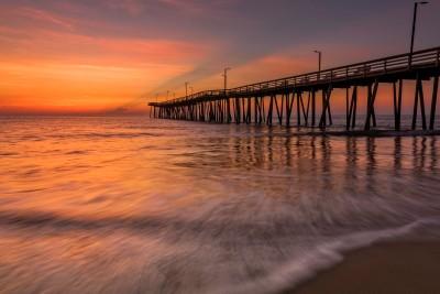 Sunrise in Va Beach