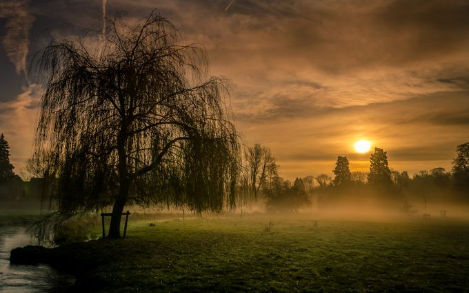 Late Autumn Sunrise in the Cotswolds by colinroberts - Dodho Volume 4 Photo Contest