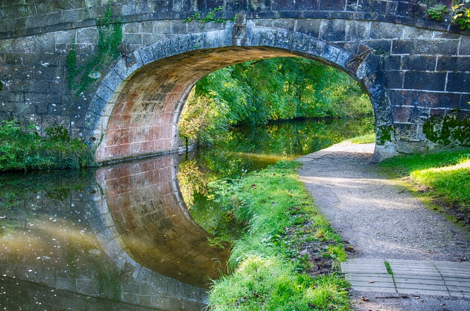 Bridge over the canal at Carnforth, Lancs