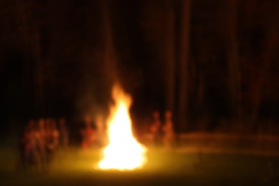 The Fire That Blurred Out the Night