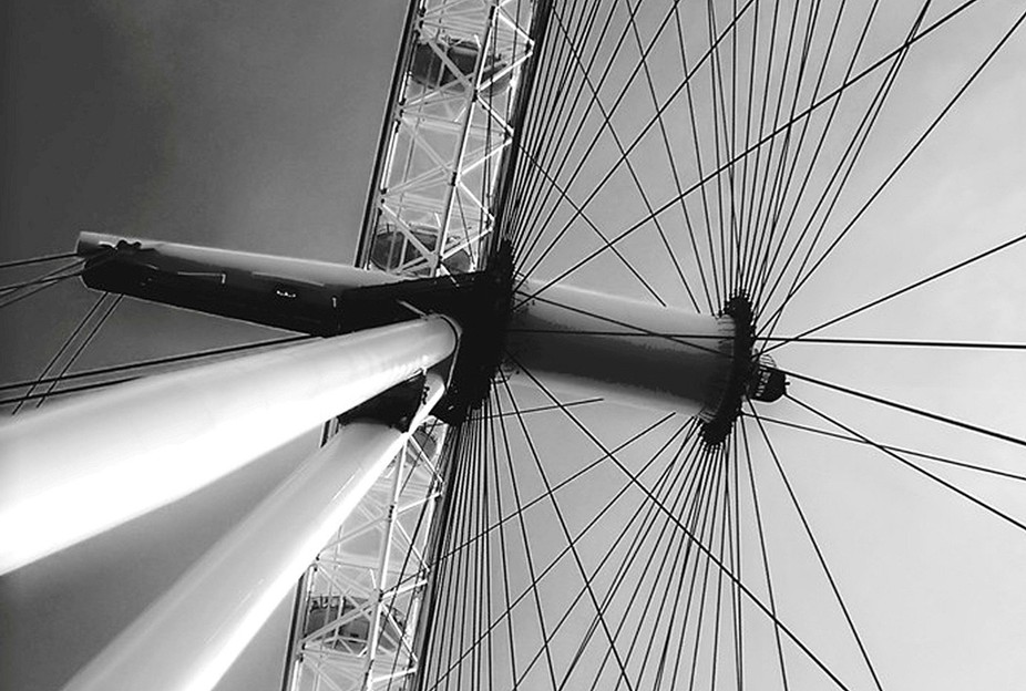 The Millennium Wheel in London