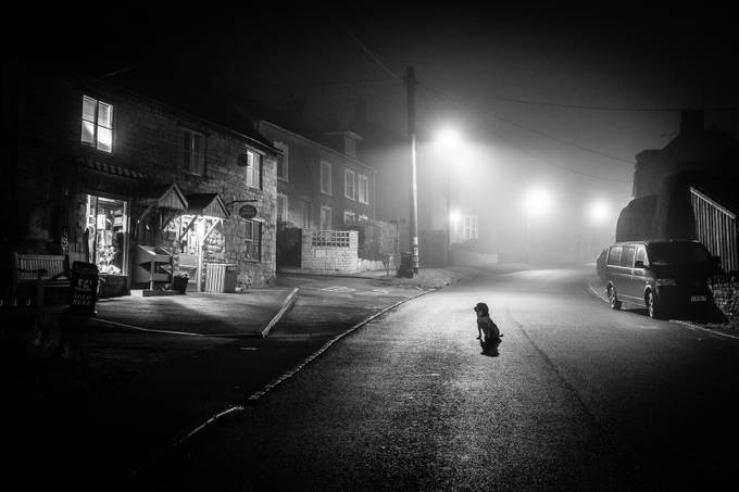 Fog Dog Shop by rupertrussell - Black And White Compositions Photo Contest
