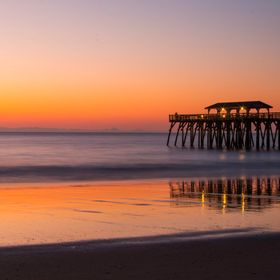 Sunrise at the Fishing Pier