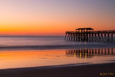 Sunrise at the Fishing Pier