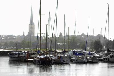 Rainy Day in Tallinn