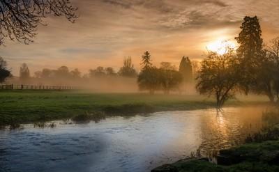 Cotswolds Morning Mist