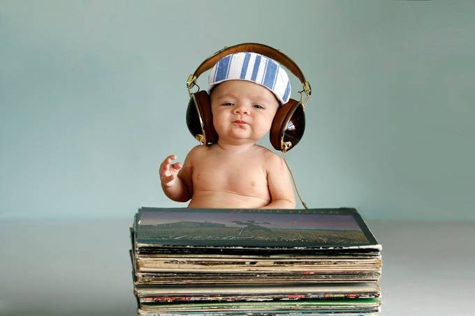 Hey Mister DJ by thepixelpoet - Kids With Props Photo Contest