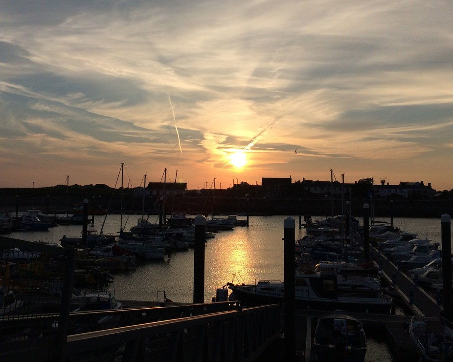 Sunset - Burry Port Marina
