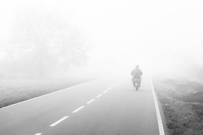Into the unknown by Hud1ai2 - Motorcycles Photo Contest