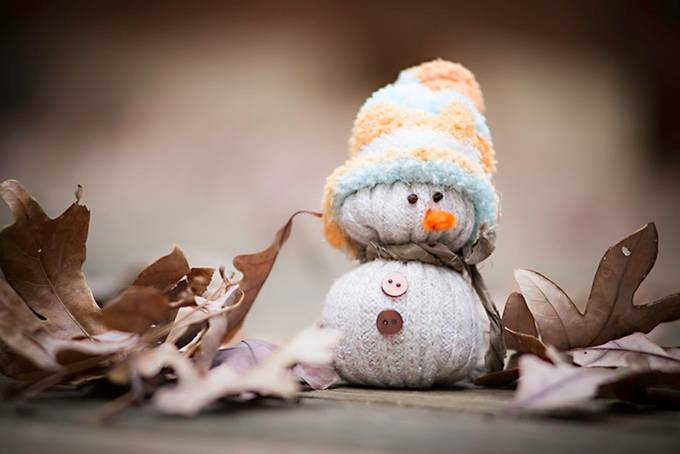 Another one of Mr. Snowman by natashasioss - The Brown Color Photo Contest