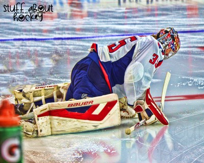 Stuff I Love About Hockey . . . Watching Cute Goalies Do This