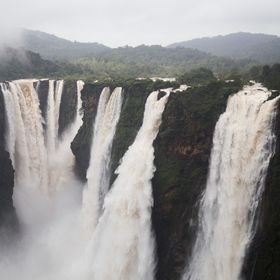 Jog Falls, Gerosoppa Falls or Joga Falls is the second-highest plunge waterfall in India, Located in Sagara taluk, these segmented falls are a ma...